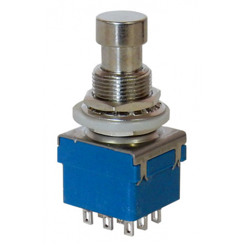 3.P.D.T. MOMENTARY PUSHBUTTON SWITCH