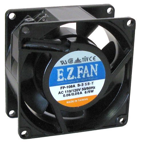 115 VAC 80MM COOLING FAN