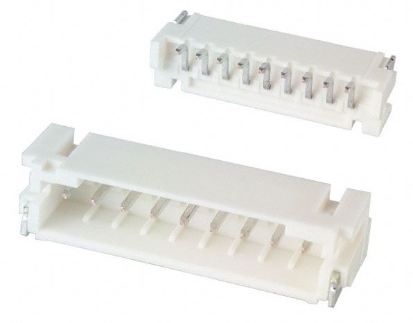 9-PIN (2MM) SHROUDED HEADER, SURFACE MOUNT