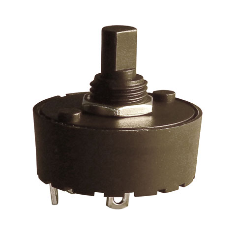 2 POSITION 10 AMP ROTARY SWITCH