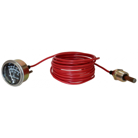 OIL TEMPERATURE GAUGE, 14' CABLE