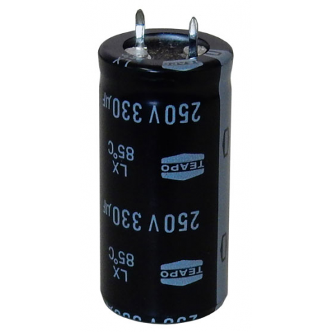 330 UF 250 V SNAP-IN CAPACITOR
