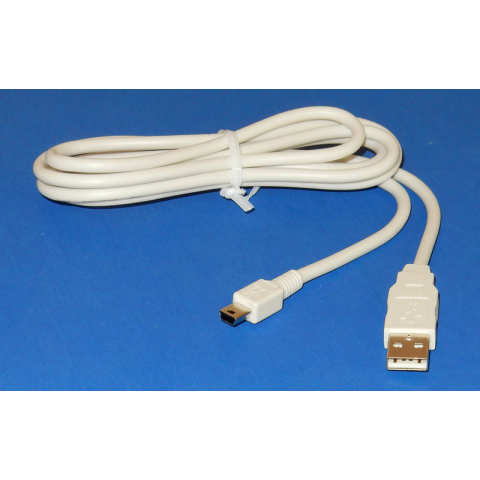 MINI-USB TO USB CABLE, 5'