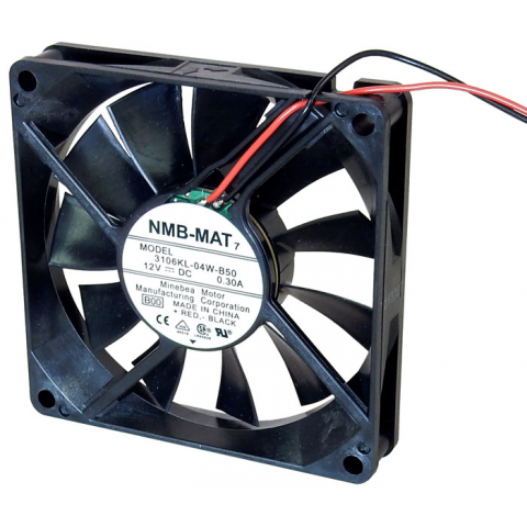 12VDC FAN, 80MM SQUARE X 15MM
