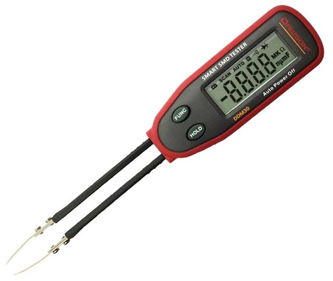 SMART SMD TWEEZER MULTIMETER