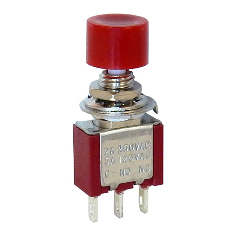SPDT MOMENTARY PUSHBUTTON