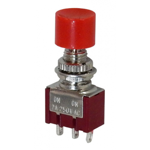 MINI SPDT PUSH-ON / PUSH-OFF SWITCH