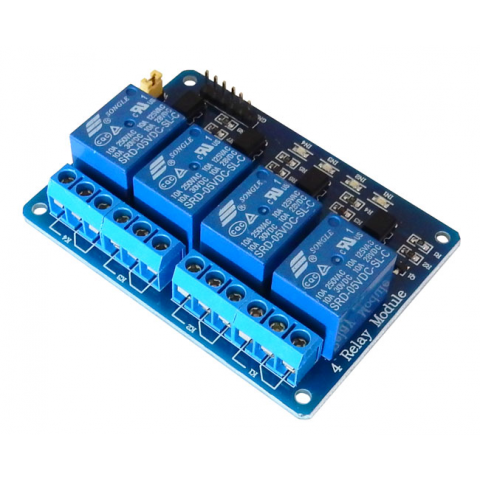 4-CHANNEL RELAY MODULE