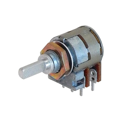 10K X 2 AUDIO TAPER POTENTIOMETER