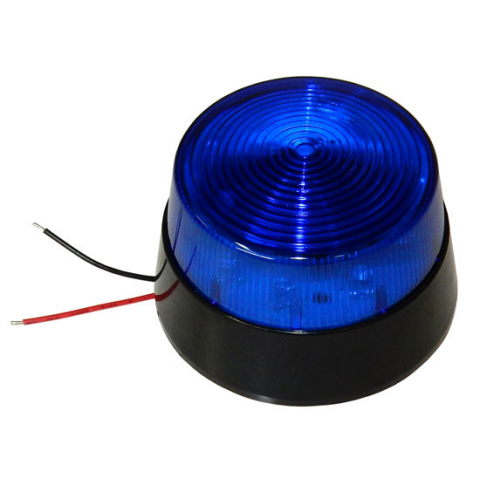 BLUE LED FLASHING LIGHT