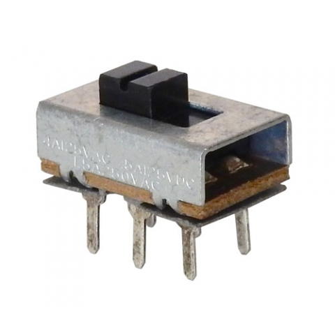 DPDT ON-ON SLIDE SWITCH