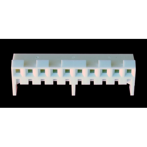 10-PIN SOCKET CONNECTOR (.156), PC MT