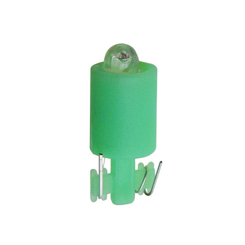 12V GREEN LED WEDGE-BASE LAMP