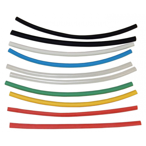 "1/4"" HEAT SHRINK, ASSORTED COLORS"