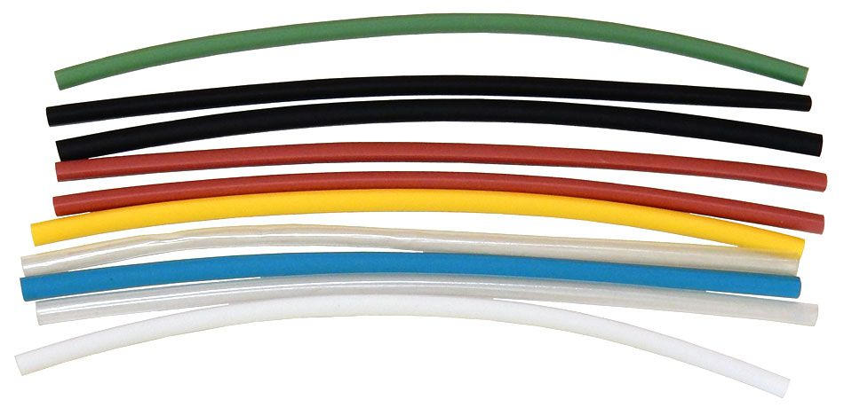 "1/8"" HEAT SHRINK, ASSORTED COLORS"