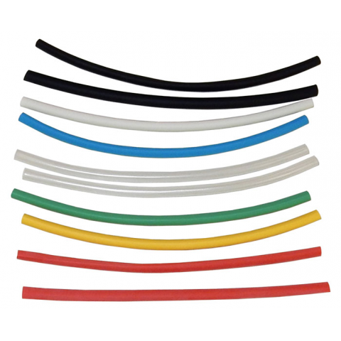 "3/16"" HEAT SHRINK, ASSORTED COLORS"