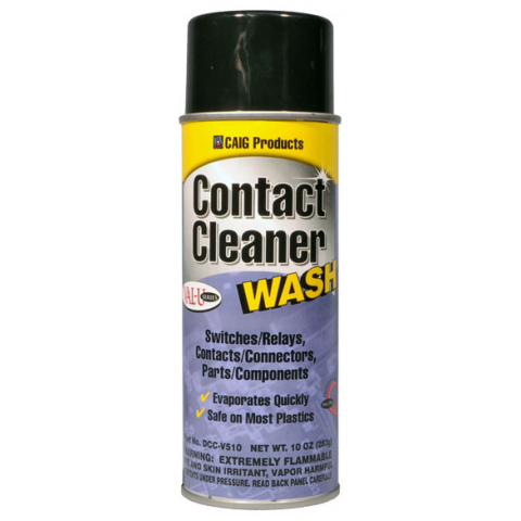 CONTACT CLEANER WASH