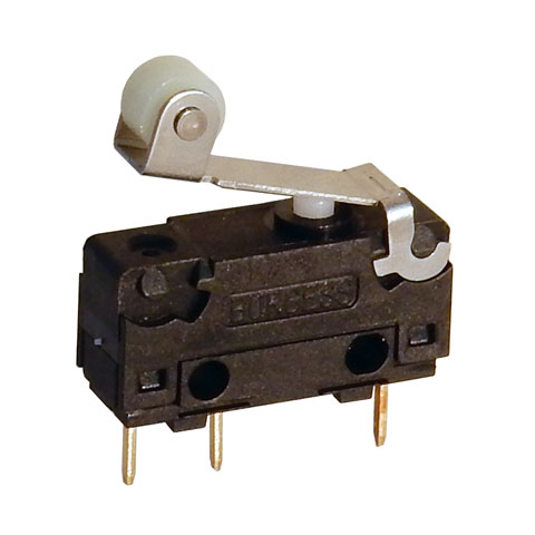 SNAP-ACTION SWITCH W/ ROLLER-TIP LEVER