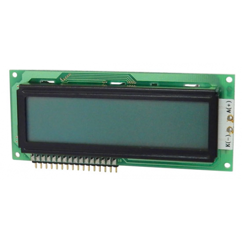 16 X 2 LCD W/ LED BACKLIGHT
