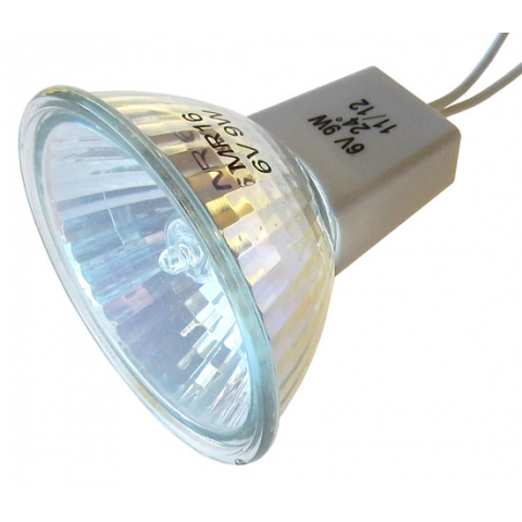 6V 9W MR16 HALOGEN LAMP W/ WIRE LEADS