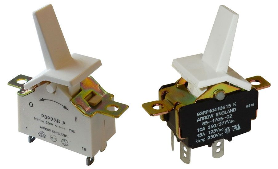 DPST PADDLE SWITCH