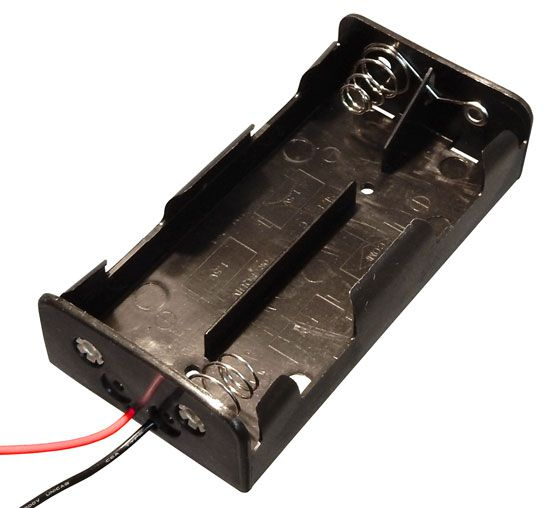 BATTERY HOLDER, 4 C CELLS