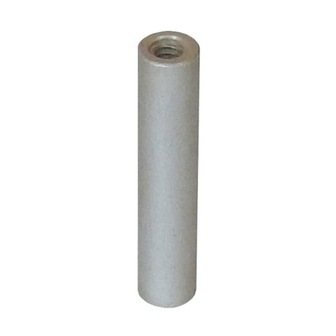 1 4 Quot Round Swage Threaded Spacer All Electronics Corp