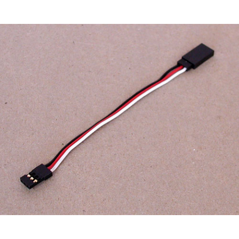 "4"" SERVO EXTENSION CABLE, FUTABA STYLE"