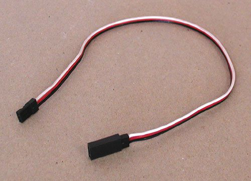 "12"" SERVO EXTENSION CABLE, FUTABA STYLE"