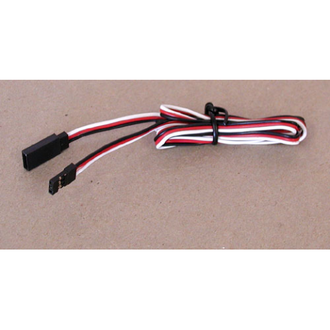 "36"" SERVO EXTENSION CABLE, FUTABA STYLE"