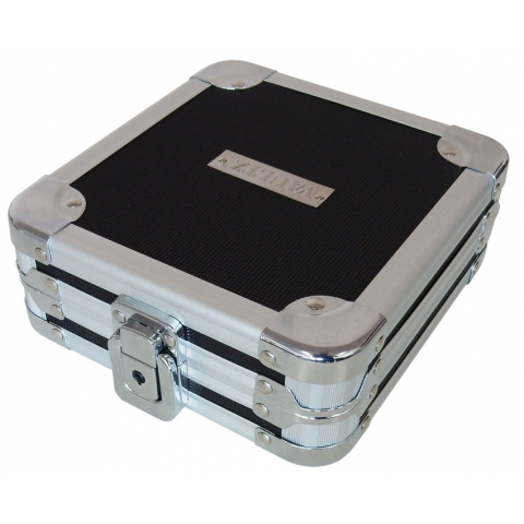 LOCKING HARDSHELL CASE WITH CD/DVD WALLET