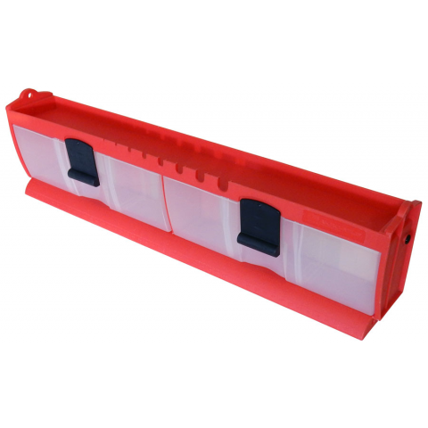TILT & LOCK DRAWERS, RED