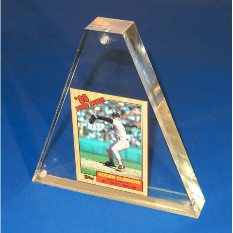 PLEXI BASEBALL CARD FRAME