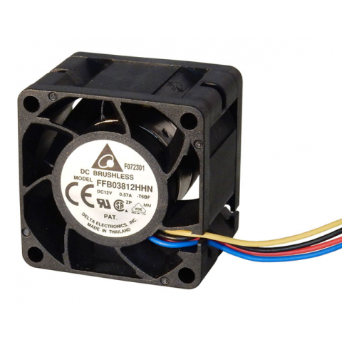 12VDC 38MM HIGH-SPEED FAN