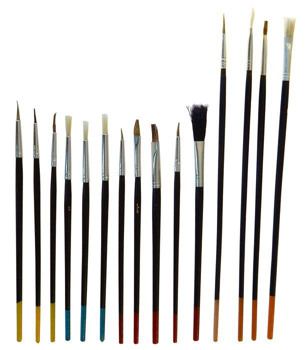 15 PIECE ARTIST BRUSH SET