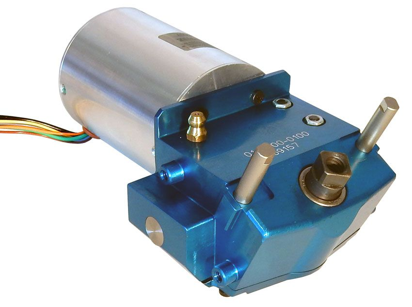 3-PHASE BRUSHLESS DC MOTOR W/ 12 RPM GEAR HEAD