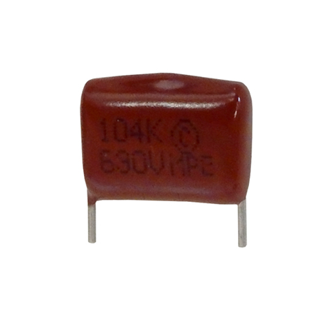 0.1UF 630V METALLIZED POLYESTER CAPACITOR