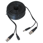 100' BNC VIDEO & POWER CABLE