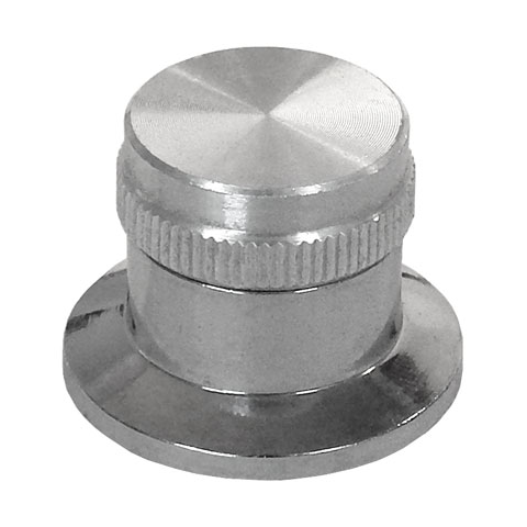 "1"" DIA. SKIRTED KNOB FOR 6MM SHAFT"