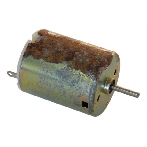 3 - 6 VDC MOTOR, VERY TRANISHED