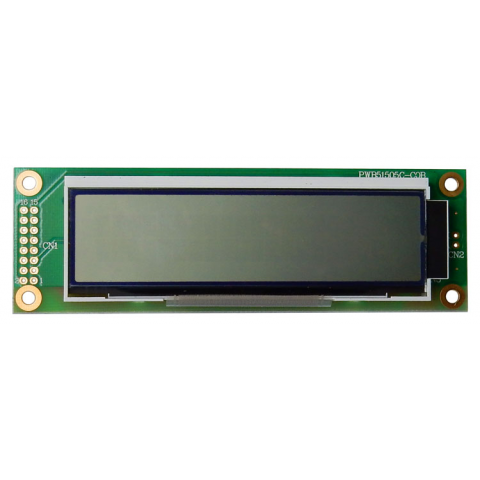 20 X 2 LCD W/ WHITE LED BACKLIGHT