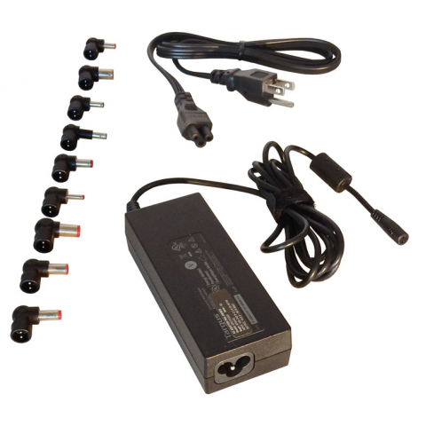 90W UNIVERSAL NOTEBOOK AC POWER ADAPTER W/9 PWR TIPS