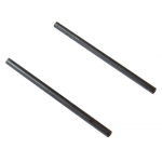 "TWO AXLES, 2.5"" X 1/8"" (63MM X 3MM)"