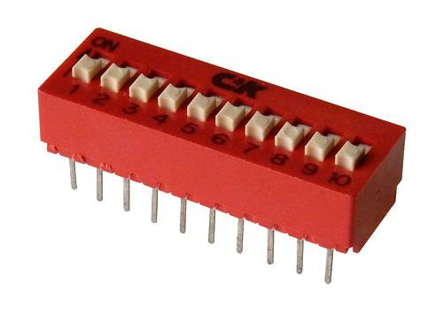 10 POLE DIP SWITCH