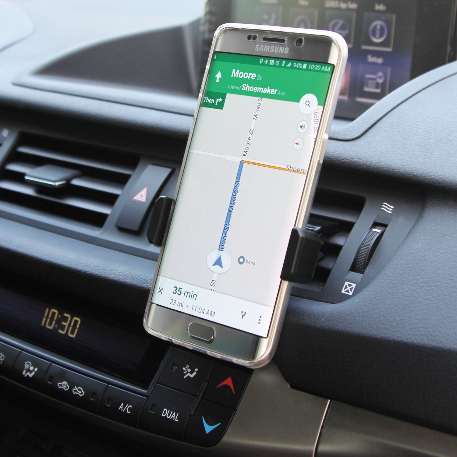 SMARTPHONE CAR AIR VENT MOUNT