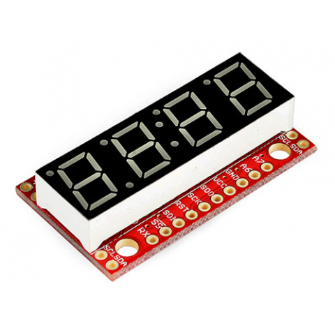 4-DIGIT 7-SEGMENT SERIAL DISPLAY