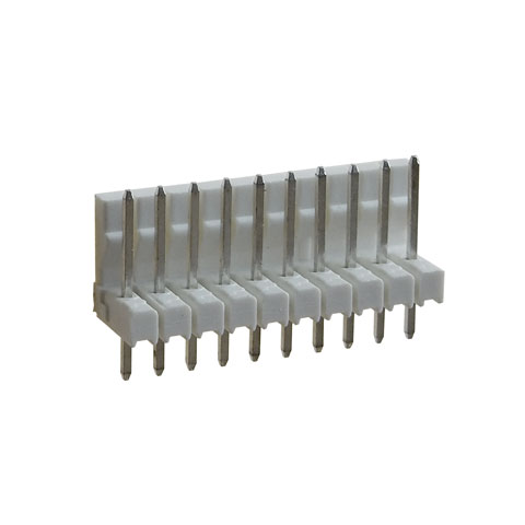 "10-PIN FRICTION-LOCK HEADER, 0.1"" SPACING"