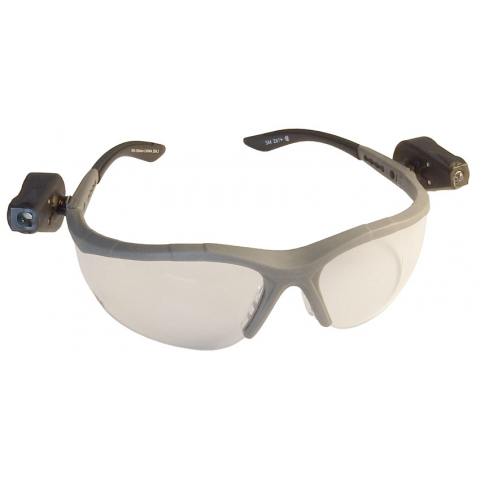 3M SAFETY GLASSES W/ LED LIGHTS