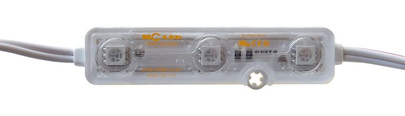12V YELLOW LED MODULE STRIP