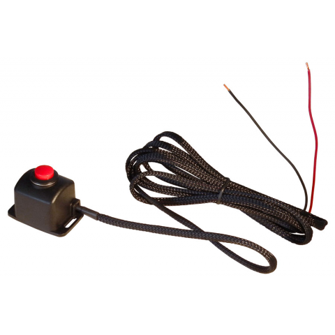 BULKHEAD MOUNT PUSHBUTTON W/ CABLE